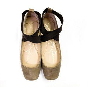 Jessica Simpson Mandalaye Ankle Strap Ballet Flat